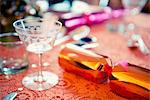 Christmas cracker on table Stock Photo - Premium Royalty-Free, Artist: Susan Findlay, Code: 649-06622614