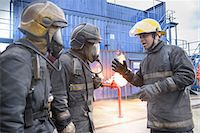 student fighting - Firefighters in simulation training Stock Photo - Premium Royalty-Freenull, Code: 649-06622771