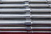 pipe (industry) - Close up of metal pipes Stock Photo - Premium Royalty-Freenull, Code: 649-06622949
