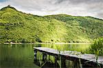 Wooden pier in still rural lake Stock Photo - Premium Royalty-Free, Artist: F. Lukasseck, Code: 649-06622999