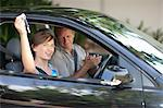 Father giving teenage daughter new car Stock Photo - Premium Royalty-Free, Artist: ableimages, Code: 614-06623407
