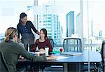 Business people working at desk Stock Photo - Premium Royalty-Free, Artist: Photocuisine, Code: 614-06624375