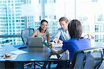 Business people working at desk Stock Photo - Premium Royalty-Free, Artist: CulturaRM, Code: 614-06624393