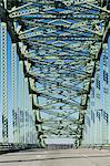 Steel structure of bridge Stock Photo - Premium Royalty-Free, Artist: Michael Mahovlich, Code: 614-06624675