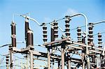 Infrastructure of power grid Stock Photo - Premium Royalty-Freenull, Code: 614-06624706