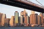 New York City skyline and bridge Stock Photo - Premium Royalty-Free, Artist: Robert Harding Images, Code: 614-06624766