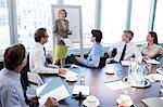 Businesswoman talking in meeting Stock Photo - Premium Royalty-Free, Artist: Uwe Umstätter, Code: 6113-06625810