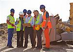 Workers and business people talking on site Stock Photo - Premium Royalty-Free, Artist: Transtock, Code: 6113-06625910