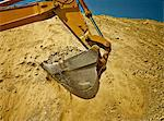 Digger working in quarry Stock Photo - Premium Royalty-Free, Artist: Transtock, Code: 6113-06625961