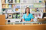 Receptionist at front desk of vet's surgery Stock Photo - Premium Royalty-Free, Artist: ableimages, Code: 6113-06626440