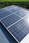 Close up of solar panels outdoors Stock Photo - Premium Royalty-Freenull, Code: 6113-06626734
