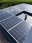 Close up of solar panels outdoors Stock Photo - Premium Royalty-Free, Artist: Jason Friend, Code: 6113-06626736
