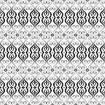 Beautiful background of seamless floral pattern Stock Photo - Royalty-Free, Artist: inbj                          , Code: 400-06628067