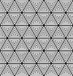 Seamless geometric pattern. Vector art. Stock Photo - Royalty-Free, Artist: troyka                        , Code: 400-06628647