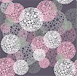 Abstract seamless polka dot circles pattern Stock Photo - Royalty-Free, Artist: lapesnape                     , Code: 400-06629539