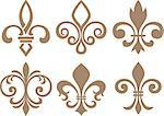 fleur de lis symbol Stock Photo - Royalty-Free, Artist: pauljune                      , Code: 400-06630537