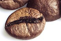 coffee beans on a white background Stock Photo - Royalty-Freenull, Code: 400-06638942