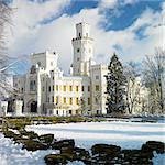 Hluboka nad Vltavou chateau, Czech Republic Stock Photo - Royalty-Free, Artist: phbcz                         , Code: 400-06640162