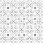 Beautiful background of seamless floral pattern Stock Photo - Royalty-Free, Artist: inbj                          , Code: 400-06640841