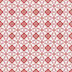 Beautiful background of seamless floral pattern Stock Photo - Royalty-Free, Artist: inbj                          , Code: 400-06640846
