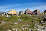 Colorful buildings in Nanortalik city in South Greenland. Stock Photo - Royalty-Free, Artist: Imagix                        , Code: 400-06641136