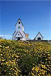 The famous landmark church in Nanortalik city in South Greenland Stock Photo - Royalty-Free, Artist: Imagix                        , Code: 400-06641137