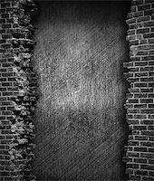 grunge brick wall background Stock Photo - Royalty-Freenull, Code: 400-06641807
