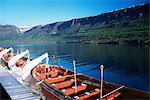 A ferry on a fjord in iceland Stock Photo - Premium Royalty-Free, Artist: IS2                           , Code: 6114-06645994