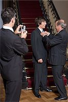 Boy in a suit with grandfather and father Stock Photo - Premium Royalty-Freenull, Code: 6114-06648149