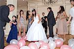 Dancing at quinceanera Stock Photo - Premium Royalty-Free, Artist: ableimages, Code: 6114-06648215