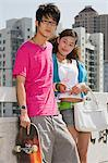 Teenage couple Stock Photo - Premium Royalty-Free, Artist: Rick Gomez, Code: 6114-06649633