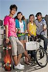Teenage friends Stock Photo - Premium Royalty-Free, Artist: Oriental Touch, Code: 6114-06649637