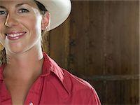 Cowgirl Stock Photo - Premium Royalty-Freenull, Code: 6114-06649781