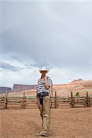 Cowgirl Stock Photo - Premium Royalty-Freenull, Code: 6114-06649829