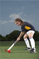 sports and hockey - Portrait of a hockey player Stock Photo - Premium Royalty-Freenull, Code: 6114-06650257