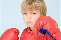 Boy boxing Stock Photo - Premium Royalty-Freenull, Code: 6114-06651071