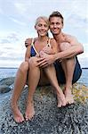 Portrait of a couple Stock Photo - Premium Royalty-Free, Artist: photo division, Code: 6114-06651255