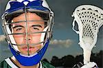 Lacrosse player Stock Photo - Premium Royalty-Free, Artist: ableimages, Code: 6114-06651581