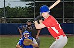 Baseball players Stock Photo - Premium Royalty-Free, Artist: Blend Images, Code: 6114-06651597