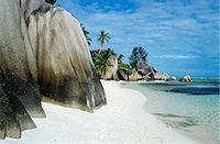 seychelles - Rocks on a beach in the seychelles Stock Photo - Premium Royalty-Freenull, Code: 6114-06651648