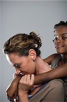 Mother and daughter Stock Photo - Premium Royalty-Freenull, Code: 6114-06652497