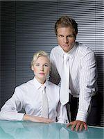 partnership - Confident colleagues Stock Photo - Premium Royalty-Freenull, Code: 6114-06654314