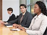 Businessman and colleagues in a meeting Stock Photo - Premium Royalty-Free, Artist: Uwe Umstätter, Code: 6114-06655432