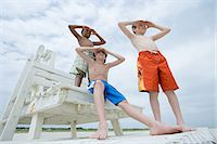 Boys looking Stock Photo - Premium Royalty-Freenull, Code: 6114-06657129