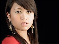 filipina - Portrait of a young woman Stock Photo - Premium Royalty-Freenull, Code: 6114-06658062