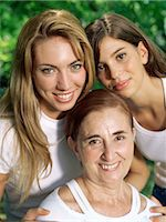 Grandmother, mother and daughter Stock Photo - Premium Royalty-Freenull, Code: 6114-06658437