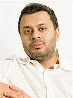 east indian (male) - Portrait of an indian man Stock Photo - Premium Royalty-Freenull, Code: 6114-06658926