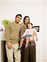 east indian mother and children - Family portrait Stock Photo - Premium Royalty-Freenull, Code: 6114-06658927