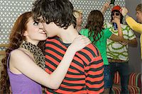 Teenagers at a house party Stock Photo - Premium Royalty-Freenull, Code: 6114-06660852