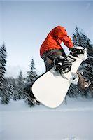Snowboarder Stock Photo - Premium Royalty-Freenull, Code: 6114-06660870